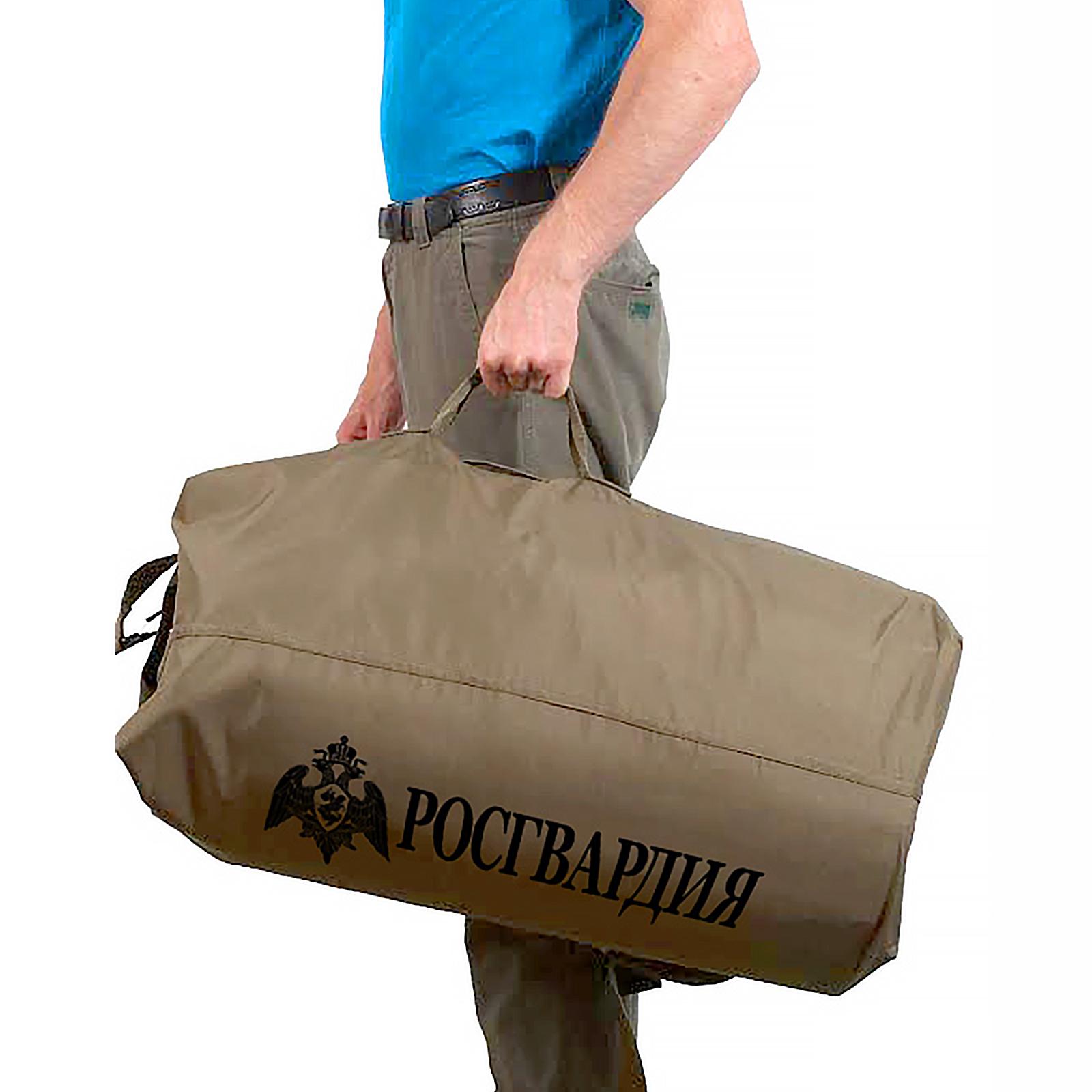 Оригинальная сумка вещмешок Росгвардии по лучшей цене