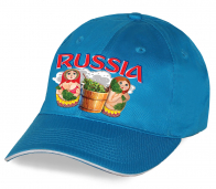 """Супер-актуальная бейсболка """"Russia Матрешки"""". Яркий головной убор для настоящих патриотов и болельщиков. Потрясающее качество, авторский дизайн. Ограниченная серия, скорее заказывай!"""