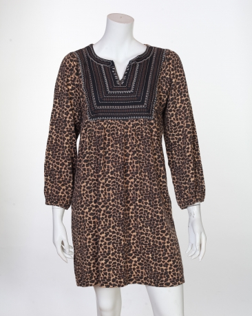 Супер-модная туника с леопардовым принтом