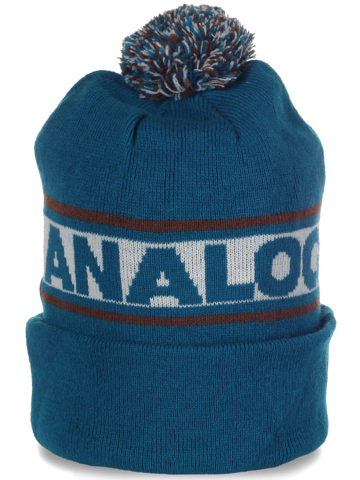Супермодная шапка с помпоном от Analog - хит сезона!