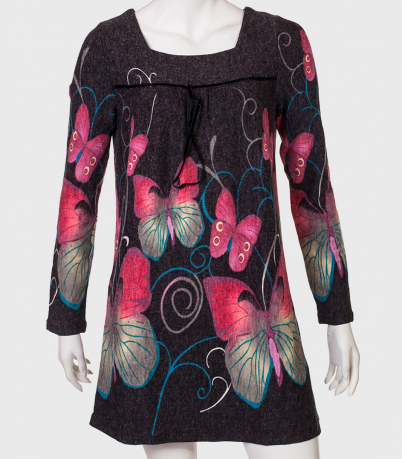 Супермодное топовое платье AFIVA