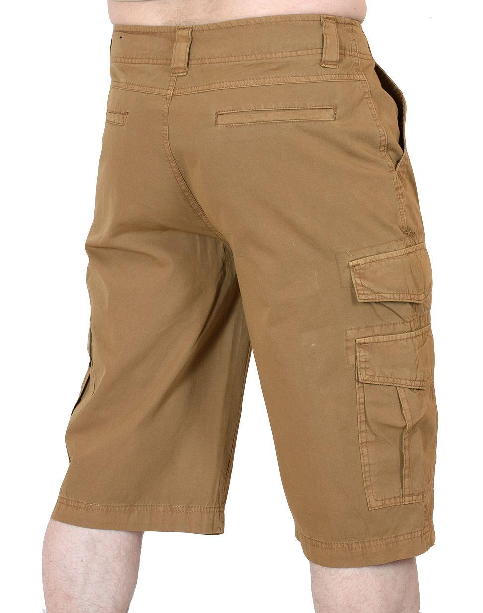 Супермодные шорты для мужчин Carbon - вид сзади