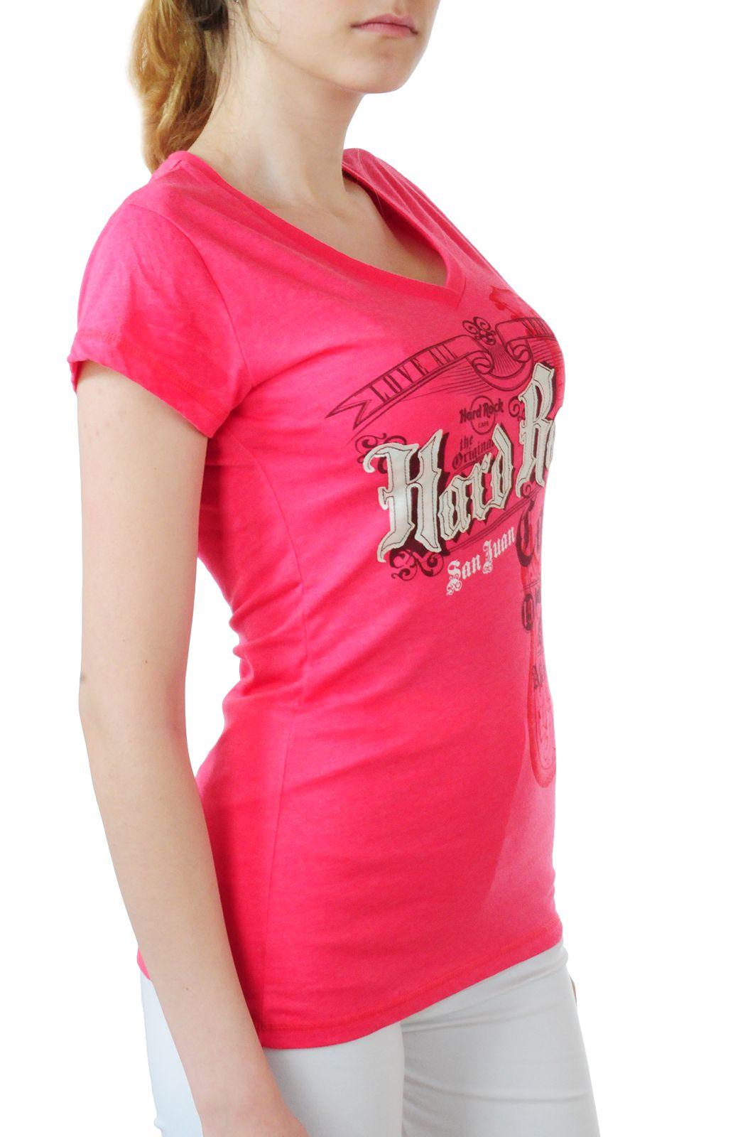 Суперстильная футболка Hard Rock® San Juan - вид сбоку