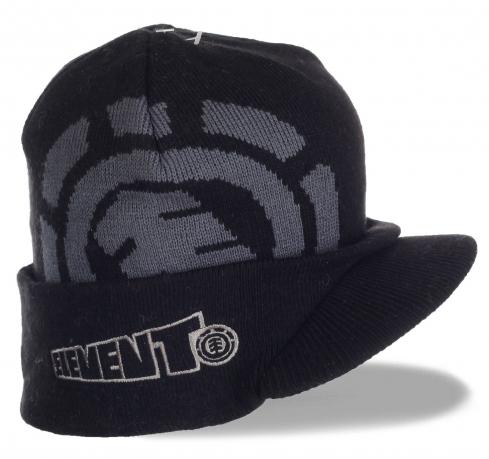 Суперстильная шапка-кепка от ELEMENT
