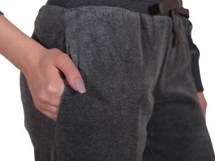 Суперстильный костюм для дома от бренда She (Италия) - карманы брюк