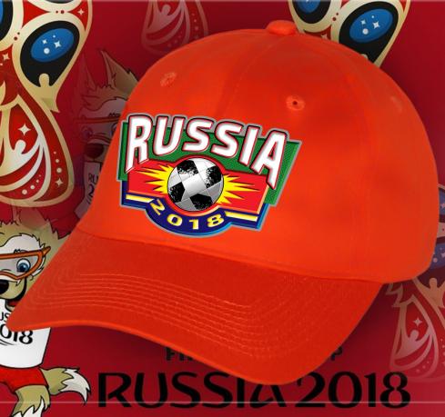 Сувенирная бейсболка Russia