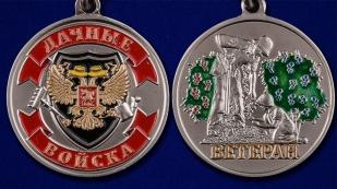 Сувенирная медаль дачнику