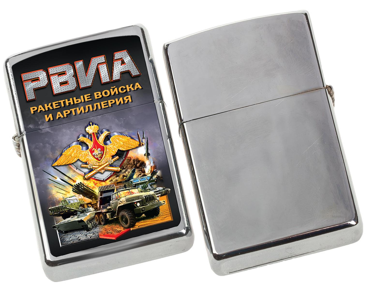 Сувенирная зажигалка РВиА по выгодной цене