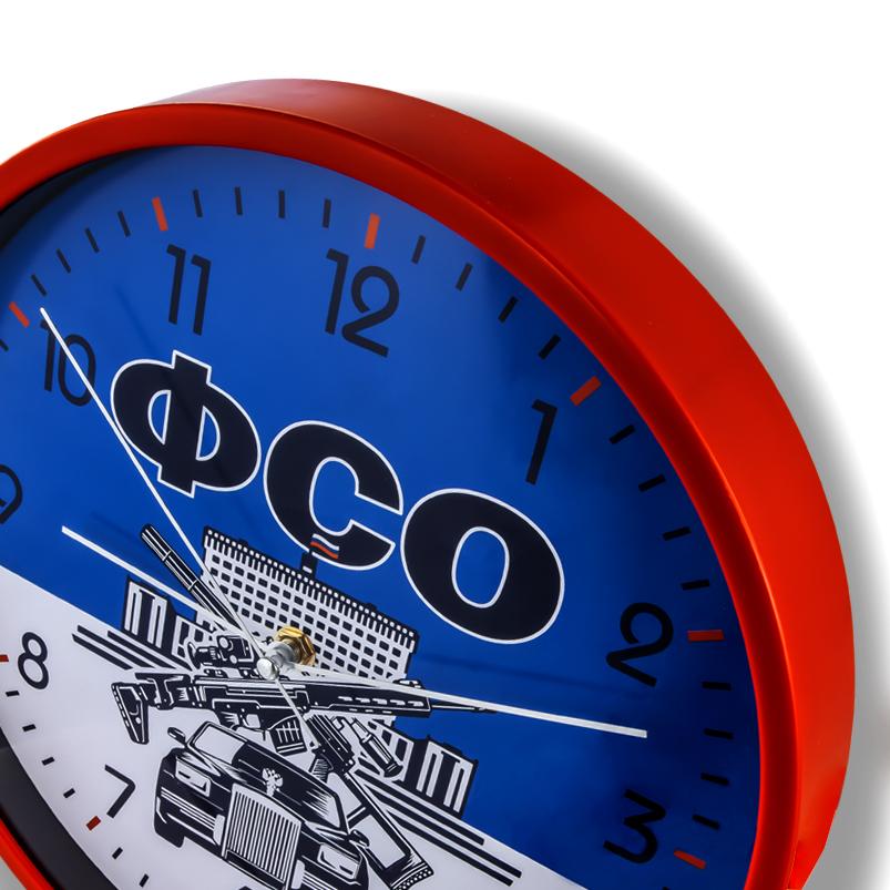 Сувенирные настенные часы ФСО купить в Военпро