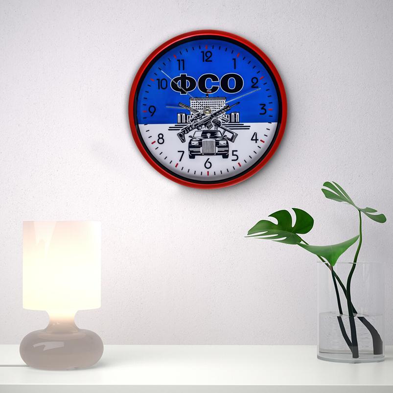 Сувенирные настенные часы ФСО заказать в Военпро