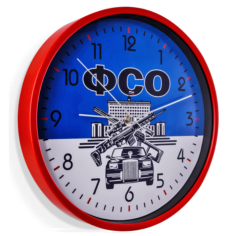 Сувенирные настенные часы ФСО