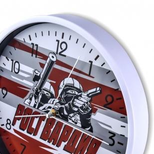 """Сувенирные настенные часы """"Росгвардия"""" купить в Военпро"""