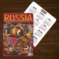 Сувенирный календарь в русском стиле (2019 год)