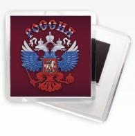 Сувенирный магнит с гербом России