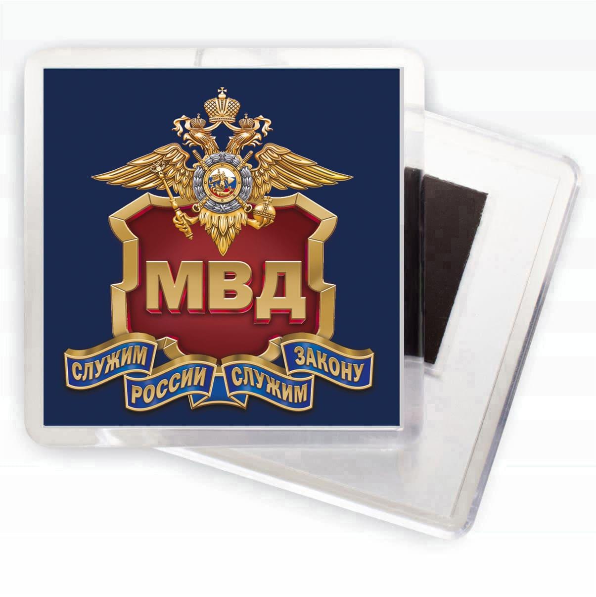Сувенирный магнитик МВД России