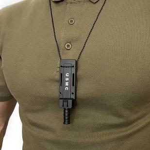 Тактический нож скрытого ношения Ka-Bar USMC в ножнах