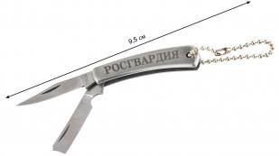 """Сувенирный ножик """"Росгвардия"""" - общая длина"""