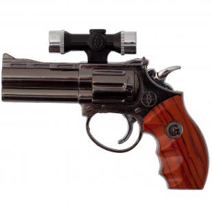 Сувенирный пистолет зажигалка с лазерной указкой