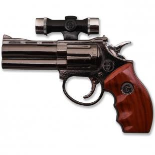 Сувенирный пистолет-зажигалка с лазером
