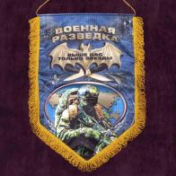 Купить сувенирный вымпел для Военной разведки