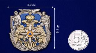 Сувенирный жетон спасателя МЧС оптимального размера