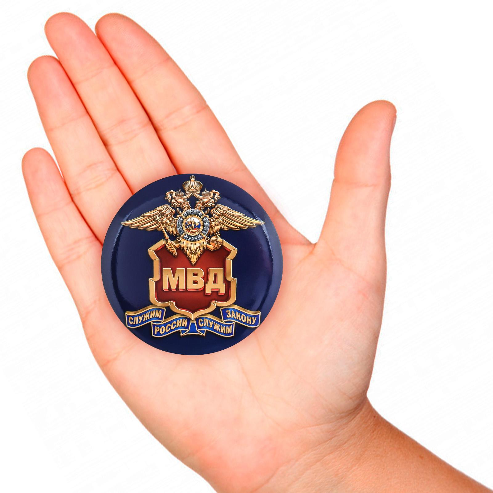 Сувенирный значок МВД России