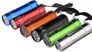 Сверхкомпактный LED-фонарик (синий)