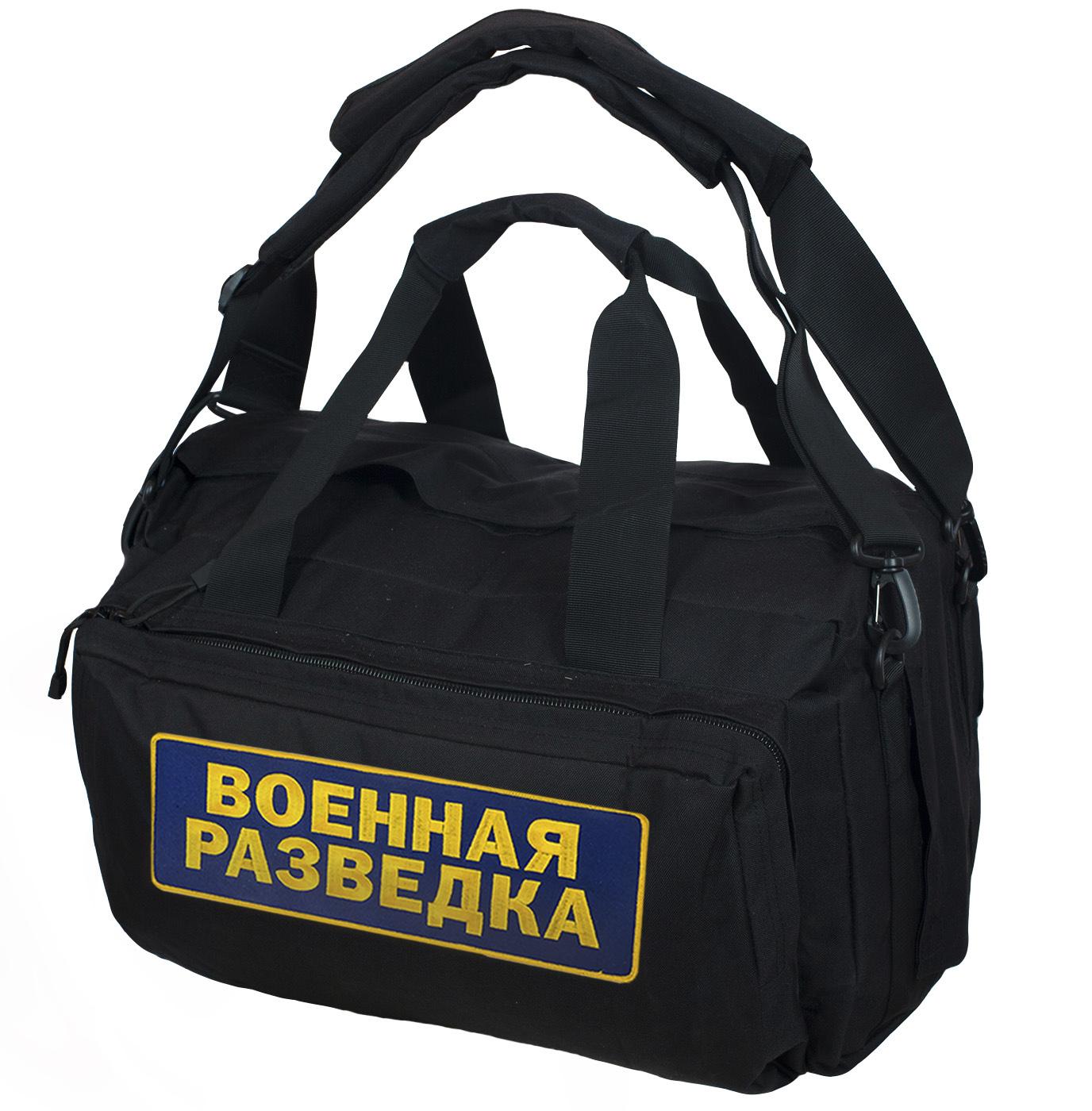 Сверхпрочная сумка рюкзак Военная Разведка