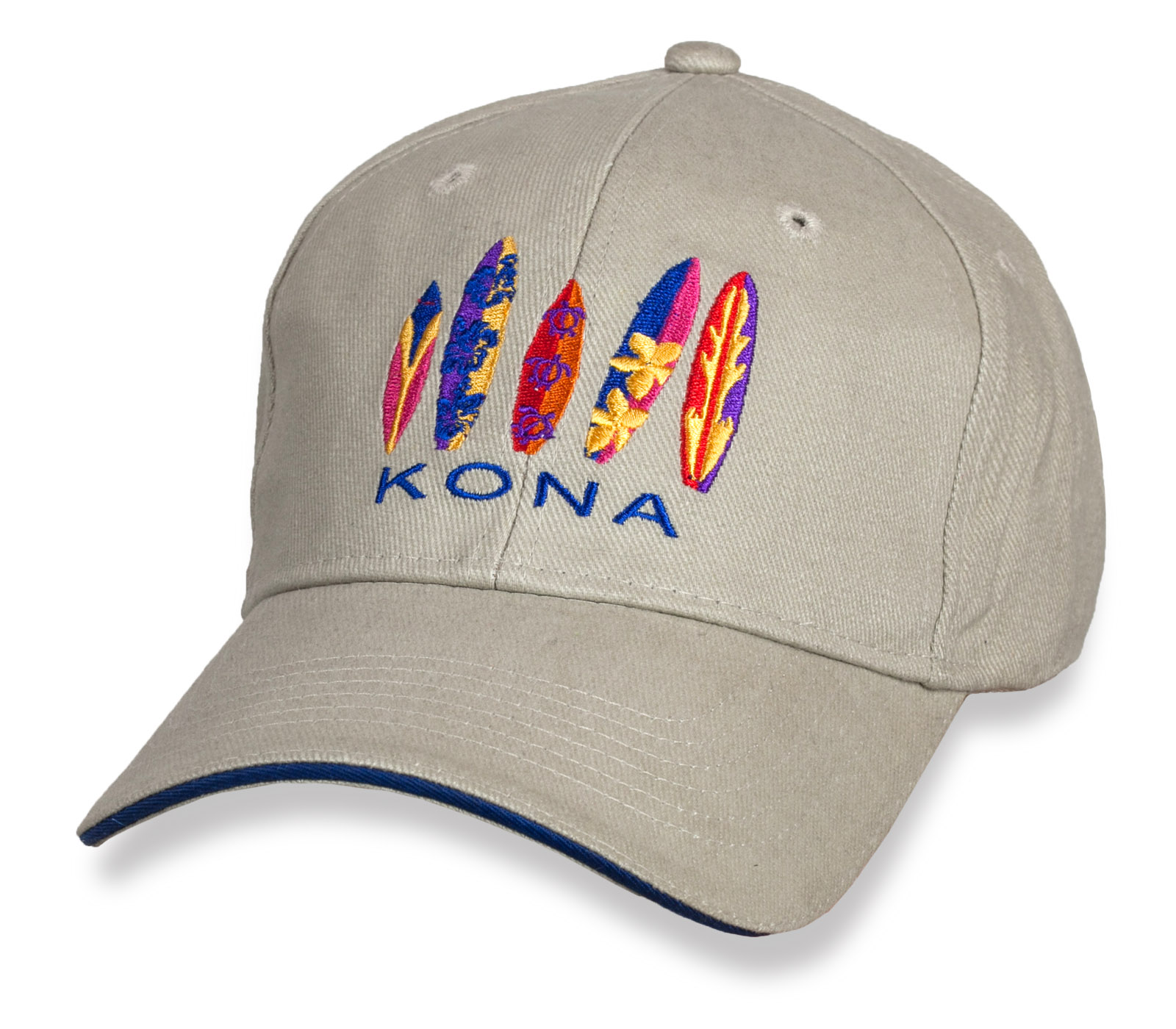 Светлая бейсболка Kona.