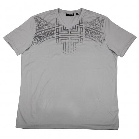 Светлая футболка Murano Fitted из хлопка