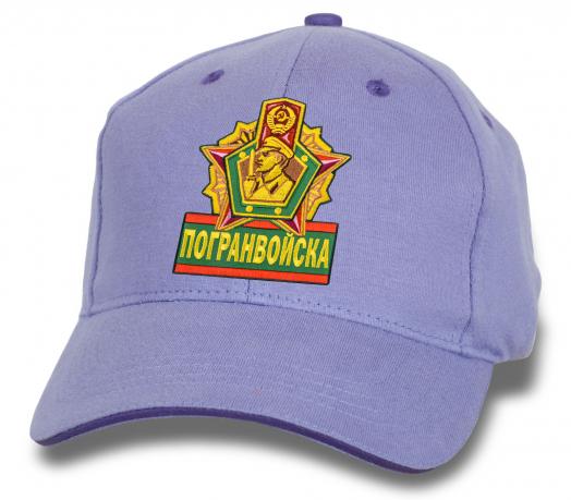 Светлая кепка Погранвойска.