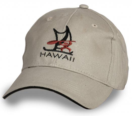 Светлая классическая бейсболка Hawaii
