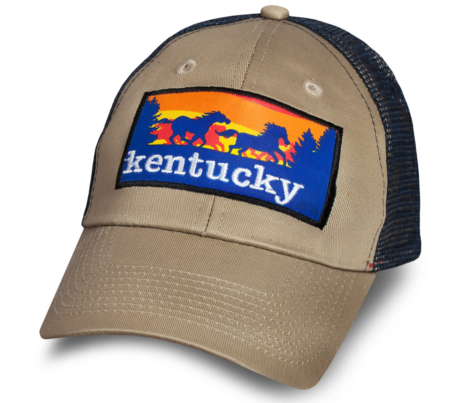 Светлая мужская бейсболка Kentucky