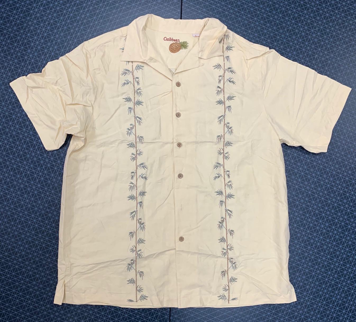 Светлая мужская рубашка Caribbean Joe