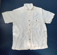 Светлая мужская рубашка от Caribbean Joe