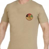Светлая оригинальная футболка Афган