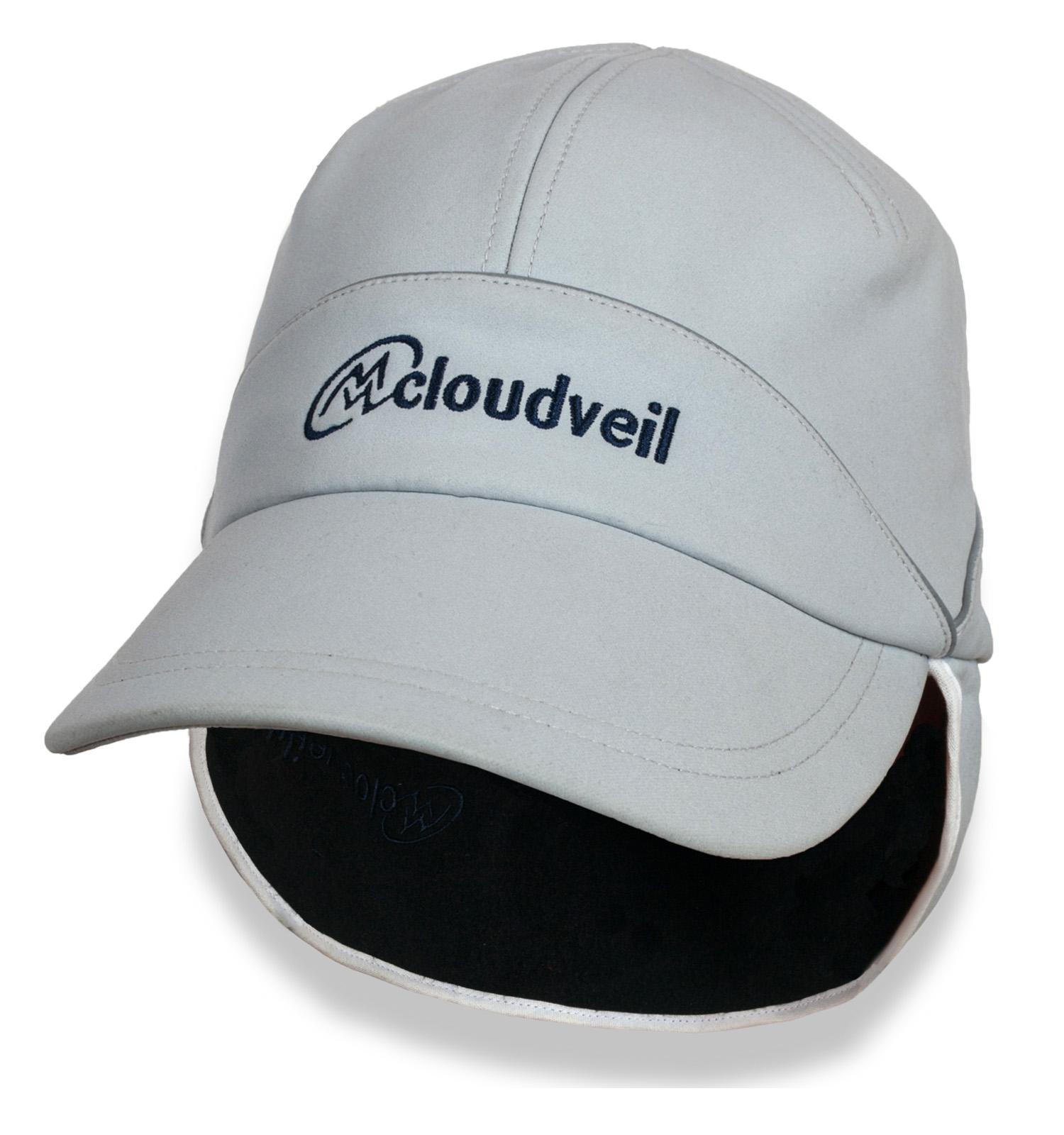 Светлая утепленная кепка Cloudveil