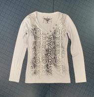 Светлая женская кофточка от ROCK&ROLL COWGIRLS