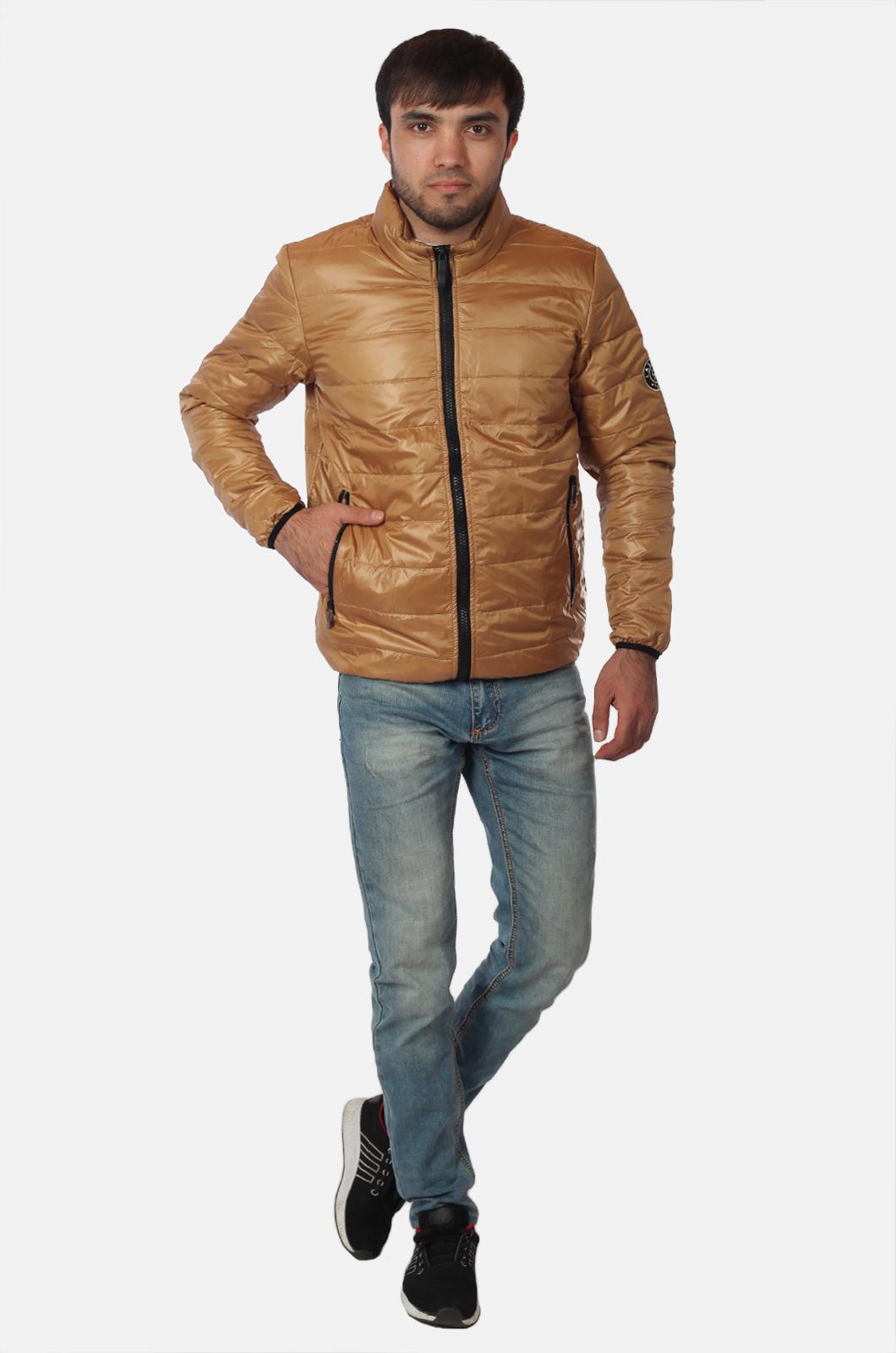 Светло-коричневая мужская куртка Layinsck доступна для заказа в Военпро