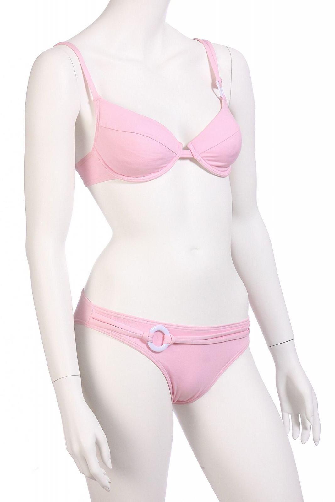 Светло-розовый купальник