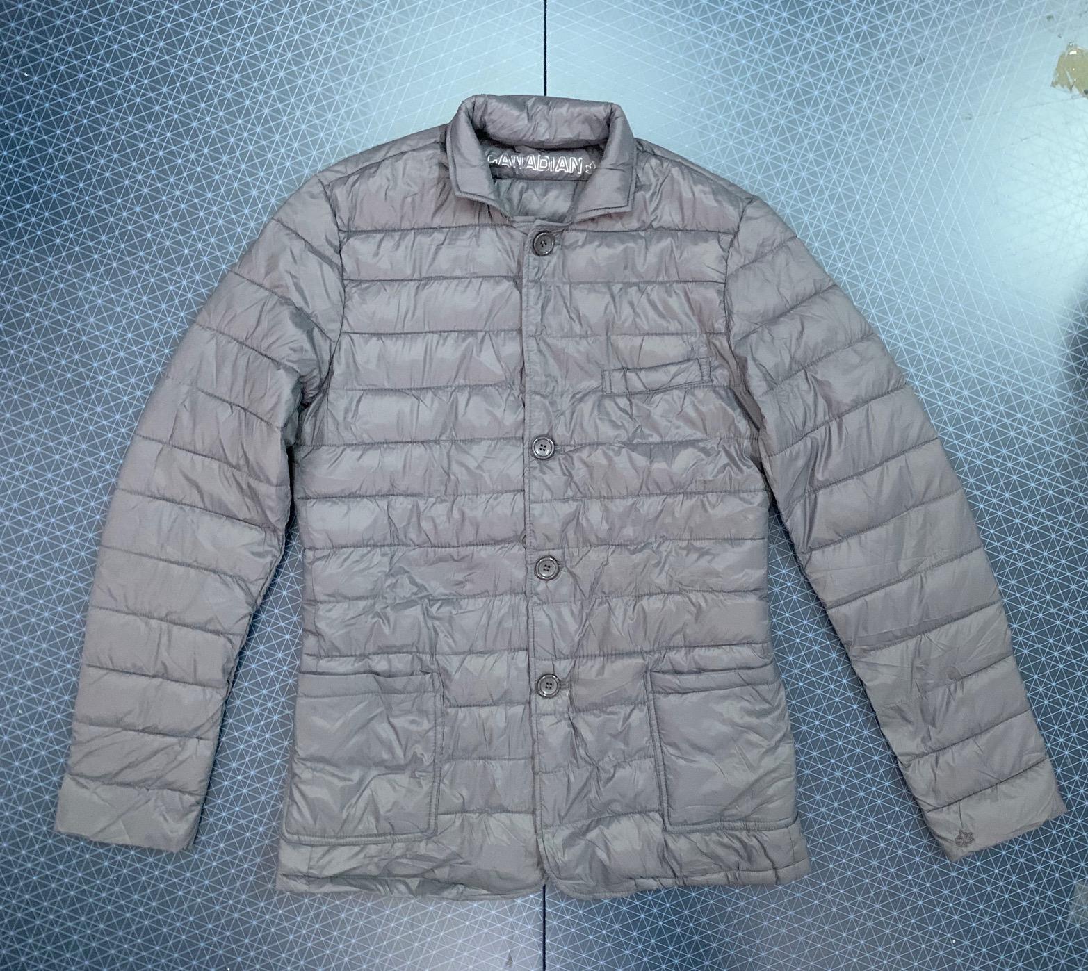 Светло-серая мужская куртка от CANADIAN