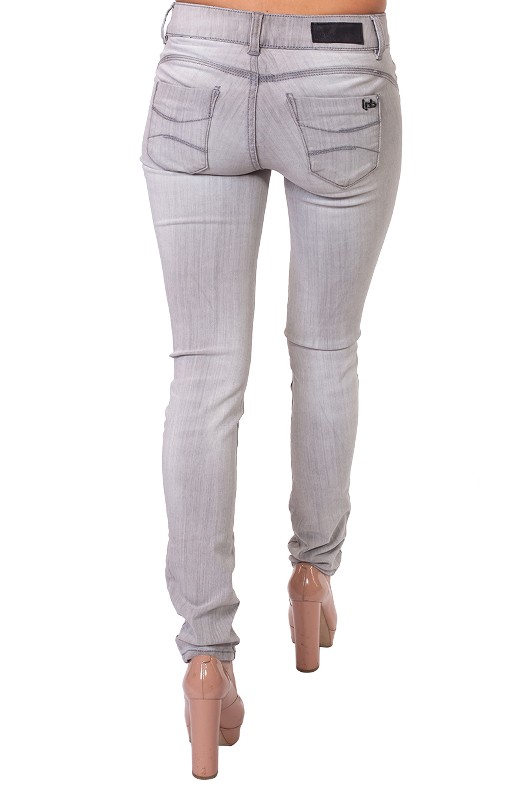 Светло-серые женские джинсы Lpb.