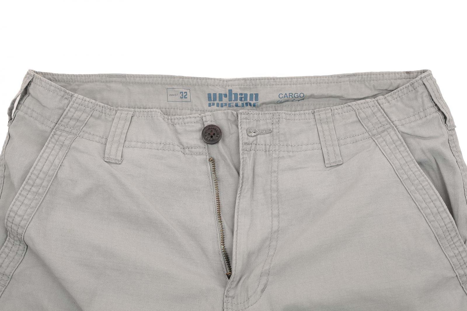 Стильные светло-серые шорты мужские от Urban с доставкой
