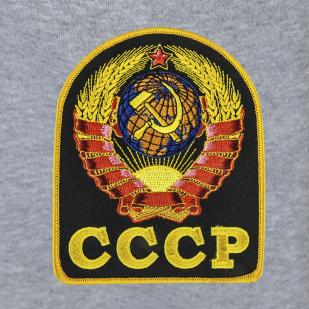 """Светло-серые спортивные штаны """"СССР"""""""