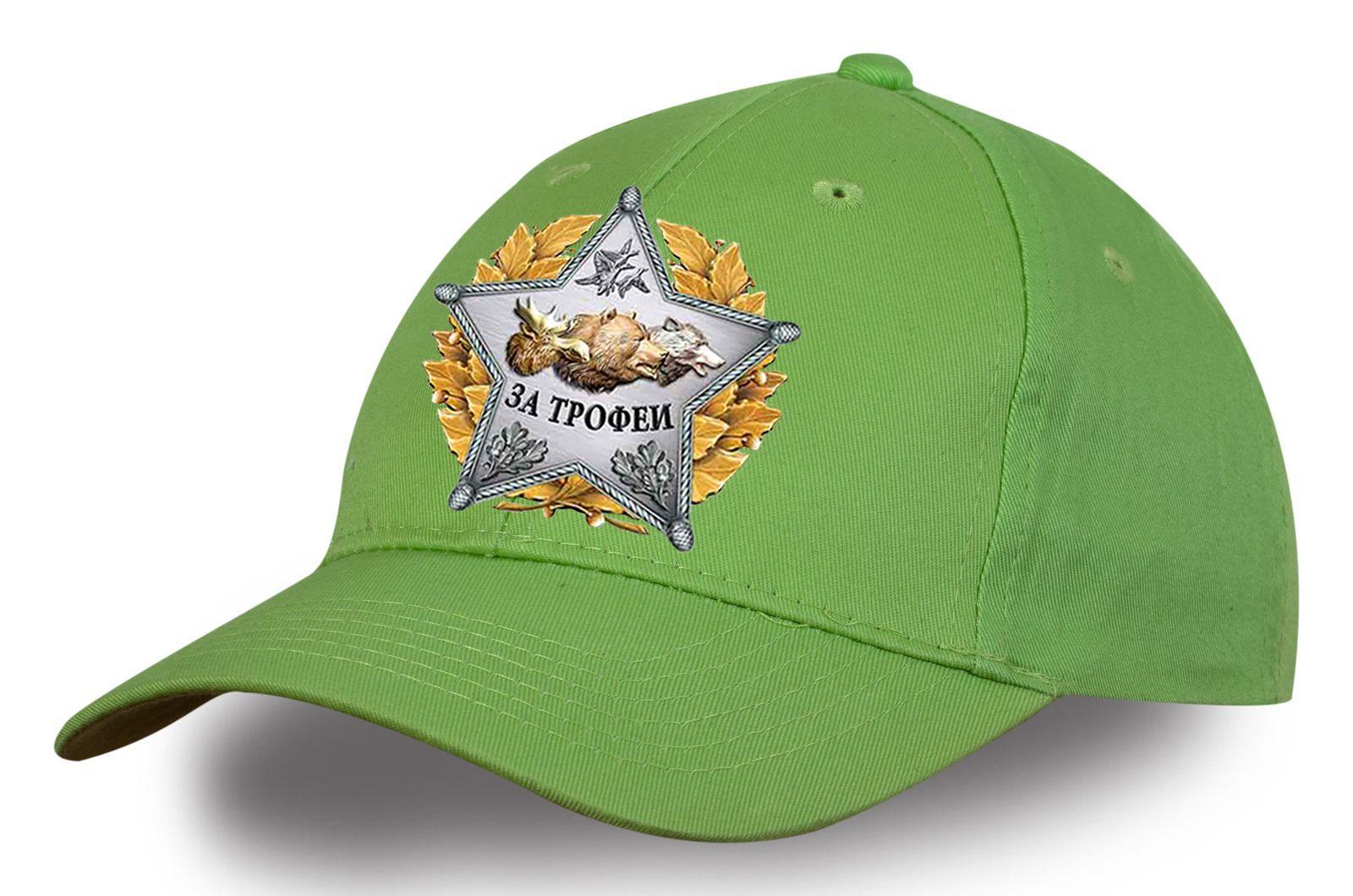 Светло-зеленая кепка охотника - заказать недорого в интернет-магазине