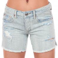 Светлые джинсовые шорты American Eagle со сквозными потёртостями и соблазнительными разрезами на бёдрах. Кис-кис-кис, мальчики