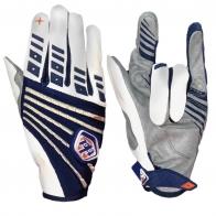 Байкерские контрастные перчатки от лучшего бренда Clarino