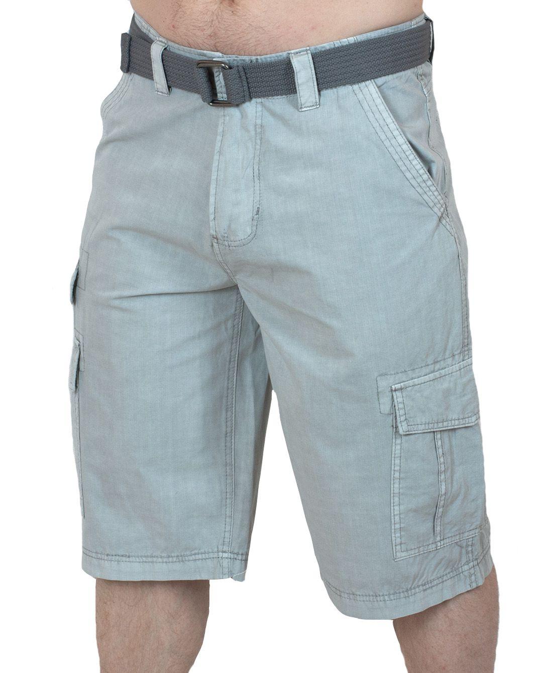 Светлые мужские шорты Carbon - вид спереди
