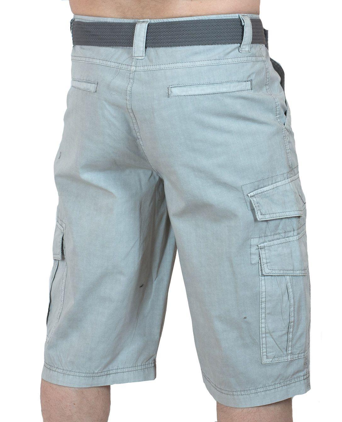 Светлые мужские шорты Carbon - вид сзади