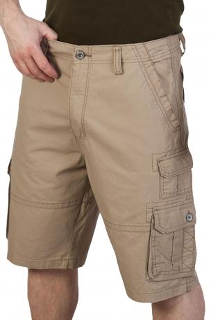 Светлые мужские шорты IRON CO